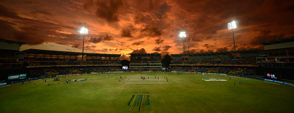 The R Premadasa stadium before the World T20 final between Sri Lanka and the West Indies in Colombo